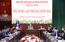 Thành ủy Hà Nội tập trung thực hiện 9 nhiệm vụ trọng tâm