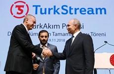 Nga, Thổ Nhĩ Kỳ khánh thành đường ống dẫn khí đốt tới châu Âu