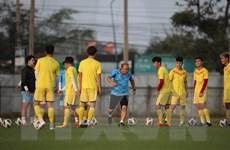 Đội tuyển U23 Việt Nam ráo riết chuẩn bị cho trận đầu ra quân