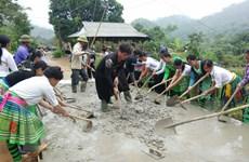 Huyện nông thôn mới đầu tiên của khu vực các tỉnh Tây Bắc