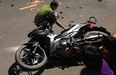 Tông vào ôtô sau khi uống rượu, người đàn ông tử vong tại chỗ
