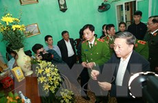 Lễ tang 3 cán bộ, chiến sỹ công an hy sinh trong vụ việc tại Đồng Tâm