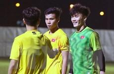VCK U23 châu Á 2020: Bùi Tiến Dũng sung sức, Đình Trọng đá chính