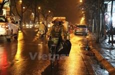 Thời tiết đêm 14/1: Bắc Bộ mưa phùn, trời rét, Trung Bộ mưa vài nơi