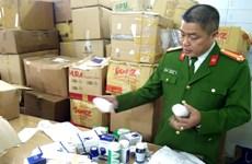 Hà Nội: Phát hiện đường dây sản xuất tân dược giả quy mô lớn