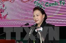 Chủ tịch Quốc hội làm việc với Thường vụ Tỉnh ủy Đắk Lắk