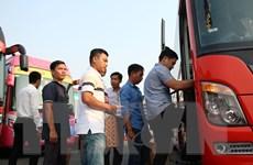 TP. Hồ Chí Minh đảm bảo đủ xe phục vụ hành khách dịp Tết Canh Tý