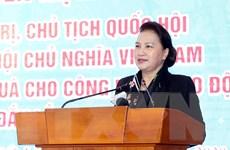 Chủ tịch Quốc hội Nguyễn Thị Kim Ngân thăm, chúc Tết tại tỉnh Đắk Lắk