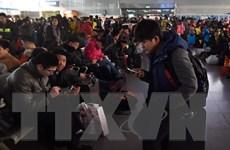 Trung Quốc dùng AI, 5G để giúp người dân trong cuộc đại di cư mùa Xuân