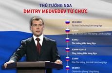 [Infographics] Những dấu mốc trong sự nghiệp của ông Dmitry Medvedev