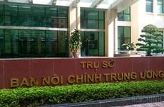 Bộ Chính trị bổ sung chức năng cho Ban Nội chính Trung ương