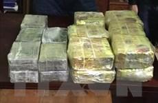 Nghệ An: Thu giữ lượng ma túy lớn, bắt hai đối tượng người Lào