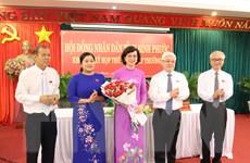 Bà Trần Tuyết Minh được bầu giữ chức Phó Chủ tịch tỉnh Bình Phước