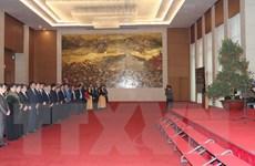 Chủ tịch Quốc hội chúc Tết lãnh đạo Quốc hội và Văn phòng Quốc hội