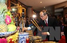TPHCM tổ chức lễ dâng cúng bánh tét lên Quốc tổ Hùng Vương