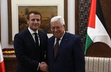 Tổng thống Palestine gặp Tổng thống Pháp nhằm cứu giải pháp 2 nhà nước