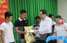 Chủ tịch MTTQ Việt Nam Trần Thanh Mẫn chúc Tết tại Cần Thơ