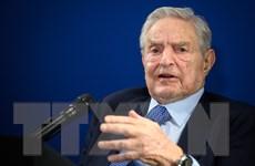 Diễn đàn Kinh tế thế giới 2020: Tỷ phú George Soros đóng góp 1 tỷ USD