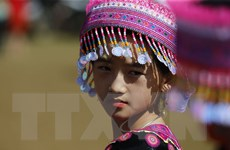 Hình ảnh Lễ hội Gầu Tào dân tộc Mông Mai Châu ở Hòa Bình