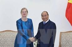 Thủ tướng Nguyễn Xuân Phúc tiếp Đại sứ Thụy Điển nhận nhiệm vụ
