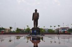 Khánh thành tượng đài Tổng Bí thư Trường Chinh tại tỉnh Nam Định