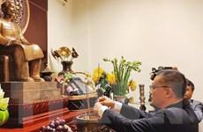 Đảng bộ ở Campuchia tổ chức dâng hương tưởng niệm Chủ tịch Hồ Chí Minh