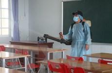 Các địa phương cho học sinh tạm nghỉ học, tổng vệ sinh trường lớp