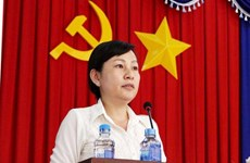 Bà Huỳnh Thị Hằng được bầu làm Phó Bí thư Thường trực tỉnh Bình Phước