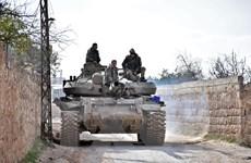 Quân đội Syria kiểm soát một số khu vực quan trọng tại tỉnh Idlib