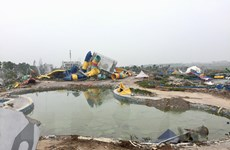 Hà Nội làm rõ thông tin cưỡng chế khu vực Công viên nước Thanh Hà