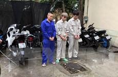 Hải Dương: Bắt giữ nhóm đối tượng trộm cắp xe máy liên tỉnh