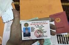 Điều tra đường dây làm giả thẻ ngành Công an Nhân dân