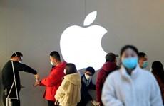 Apple mở lại hơn một nửa số cửa hàng bán lẻ tại Trung Quốc