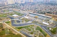 [Photo] Toàn cảnh trường đua F1 trong giai đoạn nước rút