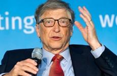 """Bill Gates nói COVID-19 là dịch bệnh """"trăm năm mới xuất hiện một lần"""""""
