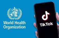 WHO gia nhập TikTok để ngăn chặn thông tin sai lệch về COVID-19