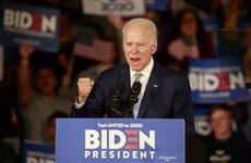 """Ngày bầu cử """"Siêu thứ Ba"""" ở Mỹ: Ông Joe Biden thắng tại 2 bang"""