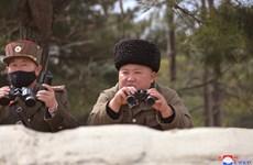 Nhà lãnh đạo Triều Tiên Kim Jong-un tham dự hội thi pháo binh
