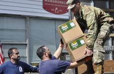 Mỹ cân nhắc triển khai quân đội hỗ trợ ứng phó dịch COVID-19