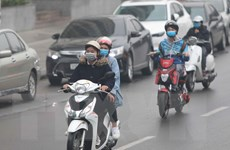 Mưa kéo dài giúp cải thiện chất lượng không khí Hà Nội và vùng lân cận