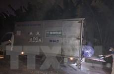 Hà Nội công bố kết quả điều tra ban đầu vụ đổ thải xuống sông Hồng