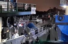 Tìm thấy thi thể thuyền viên trong vụ nổ tàu trên sông Đồng Nai