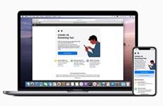 Apple ra mắt trang web, ứng dụng giúp sàng lọc ca nhiễm COVID-19