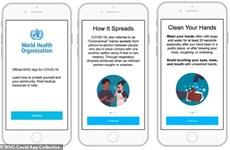 Tổ chức Y tế Thế giới ra ứng dụng thông tin chính thức về COVID-19