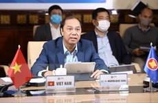 Các nước ASEAN họp trực tuyến bàn về phương pháp phòng, chống COVID-19