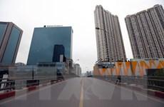 [Photo] Đường phố Hà Nội ngày đầu thực hiện cách ly toàn xã hội
