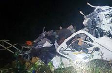 Lâm Đồng: Xe tải chở rau rơi xuống vực, lái xe bị thương nặng