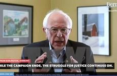 Ông Bernie Sanders công bố lý do từ bỏ cuộc đua tranh cử Tổng thống