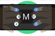 Google ra mắt bàn phím chữ nổi ảo cho điện thoại Android