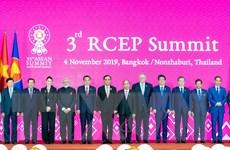 Các bên nỗ lực ký kết RCEP vào cuối năm nay tại Việt Nam
